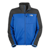 The North Face Momentum Mens Jacket, Nautical Blue-Asphalt Grey, medium