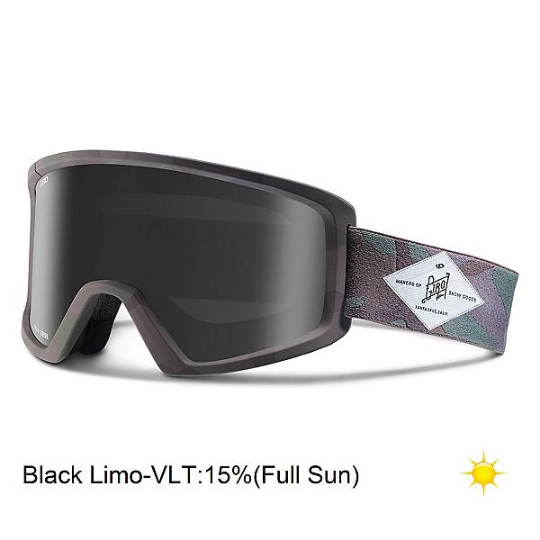 Giro Blok Goggles, Tank Camo-Black Limo, 600