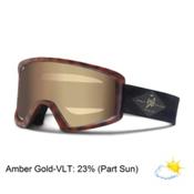 Giro Blok Goggles, Tortoise-Amber Gold, medium