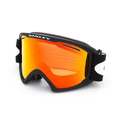 Oakley O2 XL Goggles 2017, Matte Black-Fire Iridium, viewer