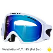 Oakley O2 XL Goggles, Matte White-Violet Iridium, medium