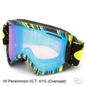 Oakley O2 XL Goggles 2016, Stumped Lime-Hi Persimmon, medium