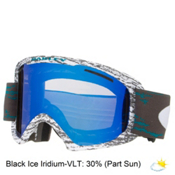 Oakley O2 XL Goggles 2016, Sheridan Teal Black-Black Ice, medium