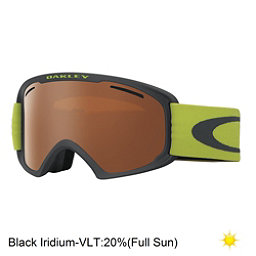 Oakley O2 XL Goggles, Iron Citrus-Black Iridium, 256