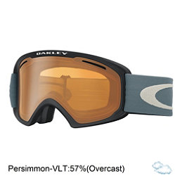 Oakley O2 XL Goggles 2017, Black Blue Shade-Persimmon, 256