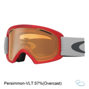 Oakley O2 XL Goggles, Red Oxide-Persimmon, medium