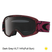 Oakley O2 XL Goggles, Chemist Fired Brick-Dark Grey, medium