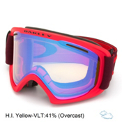 Oakley O2 XL Goggles, Red Rhone-Hi Yellow, medium
