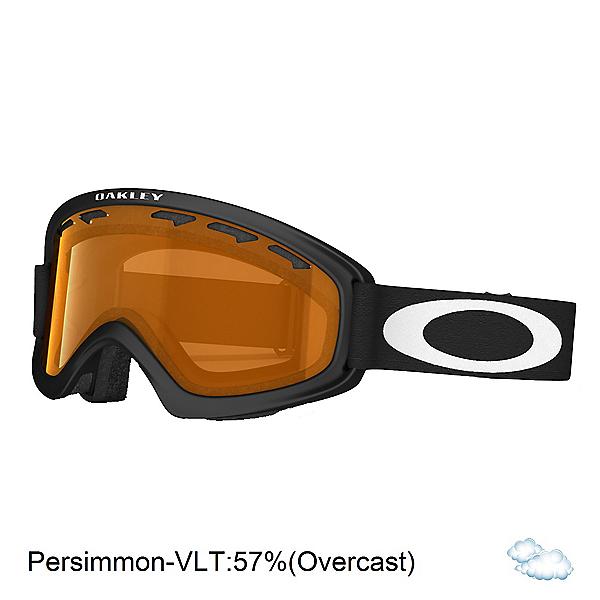 Oakley O2 XS Kids Goggles 2018, Matte Black-Persimmon, 600
