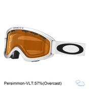Oakley O2 XS Kids Goggles 2017, Matte White-Persimmon, medium