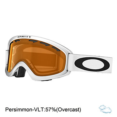 Oakley O2 XS Kids Goggles, Matte Black-Persimmon, viewer