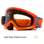 Oakley O2 XS Kids Goggles 2016, Shady Trees Orange Grey-Light, medium