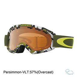 Oakley O2 XS Kids Goggles 2018, Shady Trees Army Green-Persimm, 256