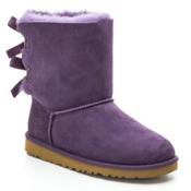UGG Australia Bailey Bow Girls Boots, Petunia, medium