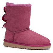 UGG Bailey Bow Girls Boots, Bougainvillea, medium