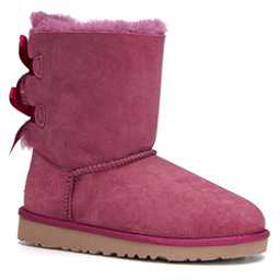 UGG Bailey Bow Girls Boots, Bougainvillea, 256