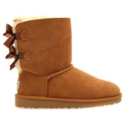 UGG Bailey Bow Girls Boots, Chestnut, 256