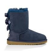 UGG Bailey Bow 16 Girls Boots, Navy, medium