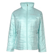 Columbia Mighty Lite III Plus Womens Jacket, Spray, medium