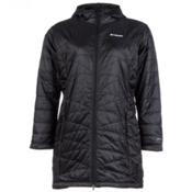 Columbia Mighty Lite Hooded Womens Jacket, Black, medium