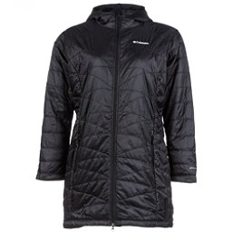 Columbia Mighty Lite Hooded Plus Womens Jacket, Black, 256