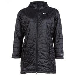 Columbia Mighty Lite Hooded Plus Womens Jacket, Black, 256