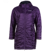 Columbia Mighty Lite Hooded Womens Jacket, Quill, medium