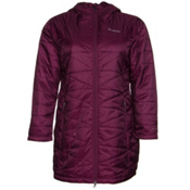 Columbia Mighty Lite Hooded Plus Womens Jacket, Purple Dahlia, medium