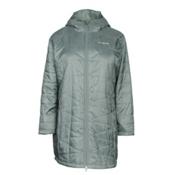 Columbia Mighty Lite Hooded Plus Womens Jacket, Pond, medium