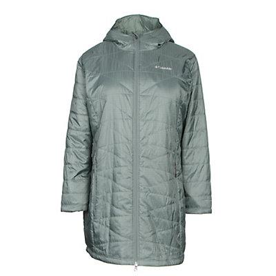 Columbia Mighty Lite Hooded Plus Womens Jacket, Black, viewer