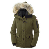 Canada Goose Montebello Parka Womens Jacket, Military Green, medium