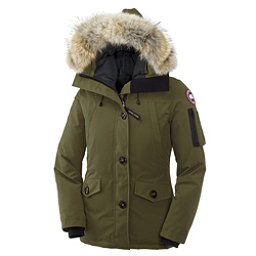 Canada Goose Montebello Parka Womens Jacket, Military Green, 256