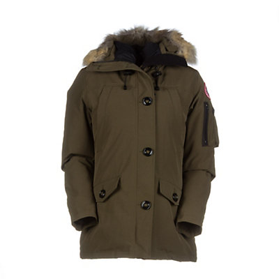 Canada Goose Montebello Parka Womens Jacket, Red, viewer