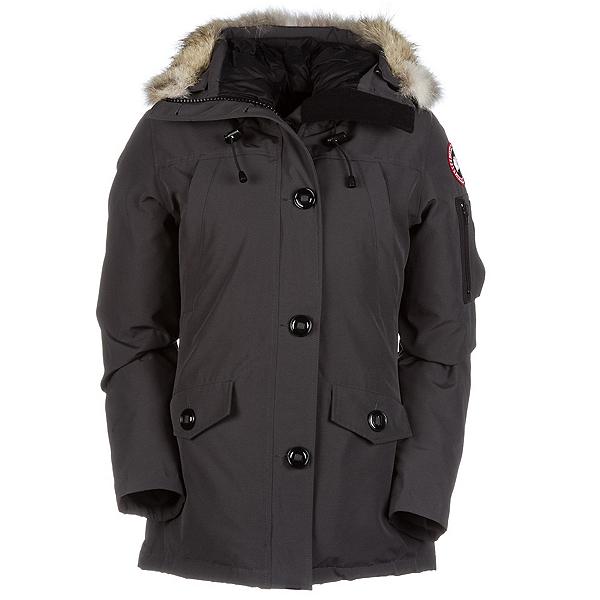 Canada Goose Montebello Parka Womens Jacket, Graphite, 600