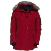 Canada Goose Montebello Parka Womens Jacket, Redwood, medium