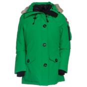 Canada Goose Montebello Parka Womens Jacket, Jade Green, medium