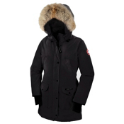 Canada Goose Trillium Parka Womens Jacket, Black, medium