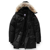 Canada Goose Langford Parka Mens Jacket, Black, medium
