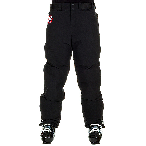 Canada Goose Tundra Down Mens Ski Pants, Black, 600