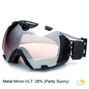 Zeal Optics Base 2.0 HD Camera with Viewfinder Goggles 2015, Black-Metal Mirror, medium