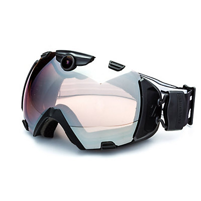 Zeal Optics Base 2.0 HD Camera with Viewfinder Goggles, Black-Metal Mirror, viewer