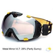 Zeal Optics Base 2.0 HD Camera with Viewfinder Goggles 2015, Blaze-Metal Mirror, medium