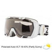 Zeal Optics Z3 GPS Goggles 2014, Carbon Matte White-Polarized Automatic, medium