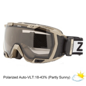 Zeal Optics Z3 GPS Goggles 2014, Carbon Matte Gold-Polarized Automatic, medium