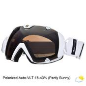 Zeal Optics Eclipse Polarized Goggles 2015, Digital White-Polarized Automatic, medium