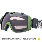 Zeal Optics Eclipse Polarized Goggles 2015, Surplus Green-Polarized Gunmetal, medium