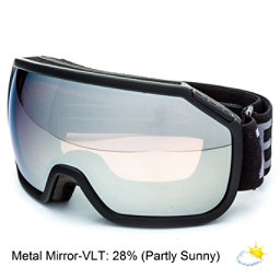 Zeal Optics Fargo Goggles, Dark Night-Metal Mirror, 256