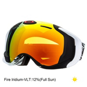 Oakley Airwave GPS Goggles, Hyperdrive-Fire Iridium, medium