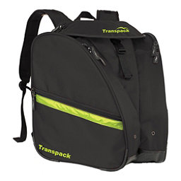 Transpack XT Pro Ski Boot Bag 2017, Black-Electric Yellow, 256