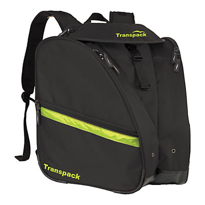 Transpack XT Pro Ski Boot Bag 2018, Black-Yellow Electric, viewer